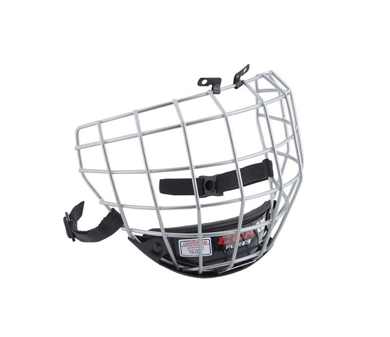 Koš CCM FL40 Facemask, Senior, M, chrom