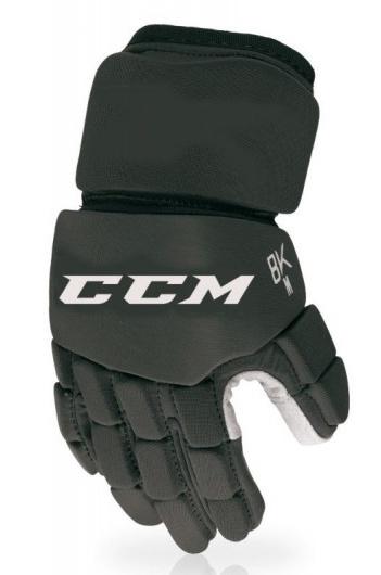 """Hokejbalové rukavice CCM 8K, černá, 12"""", M"""