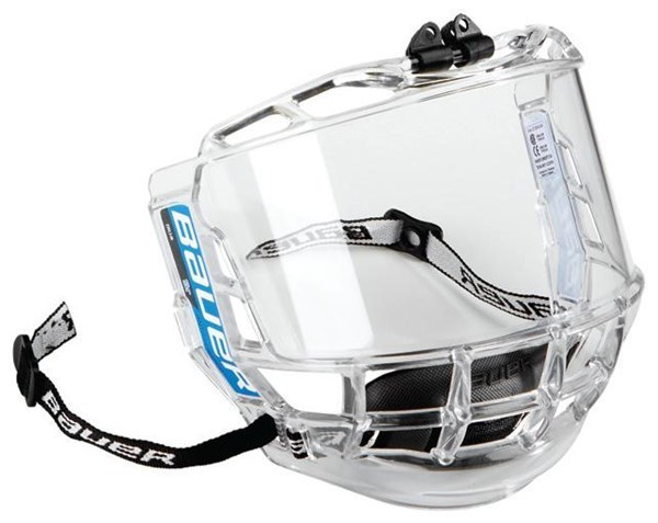 Plexi Bauer Concept 3 Full Shield JR, Junior, čirá