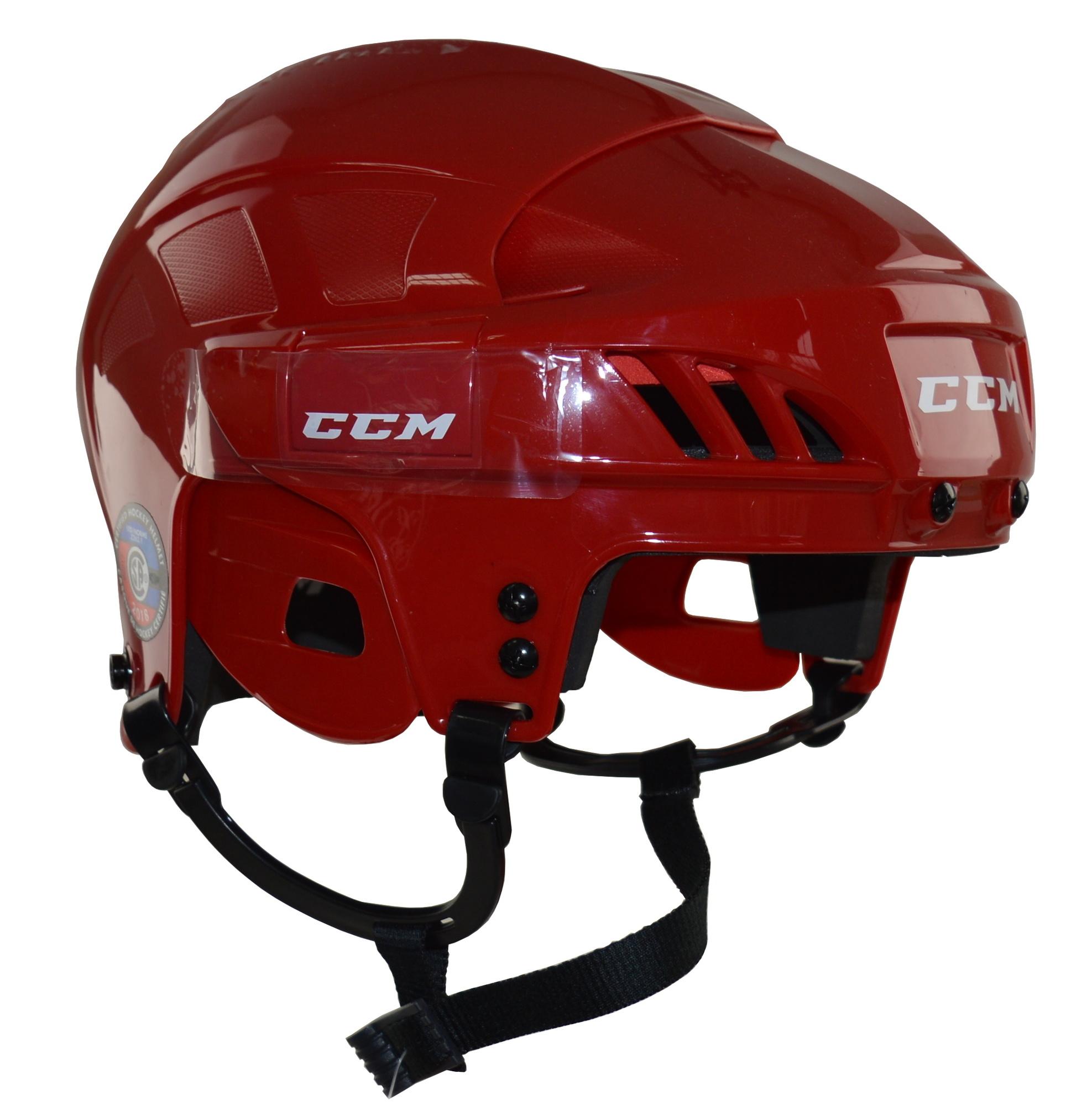 Helma CCM 50 SR, červená, Senior, M, 55-59cm