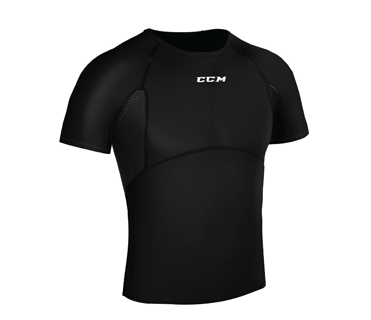 Triko CCM Compression Tee SR, Senior, M