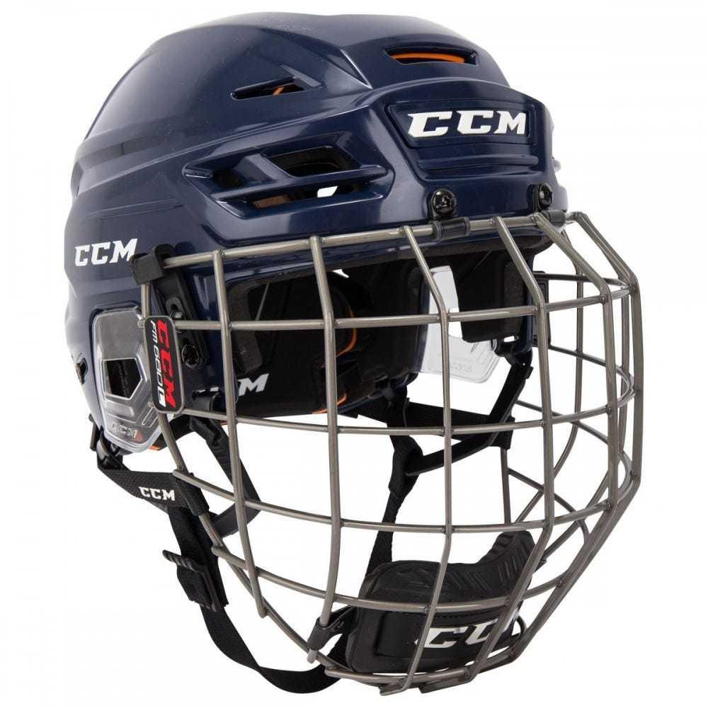 Helma CCM Tacks 710 Combo SR, tmavě modrá, Senior, L, 57-62cm
