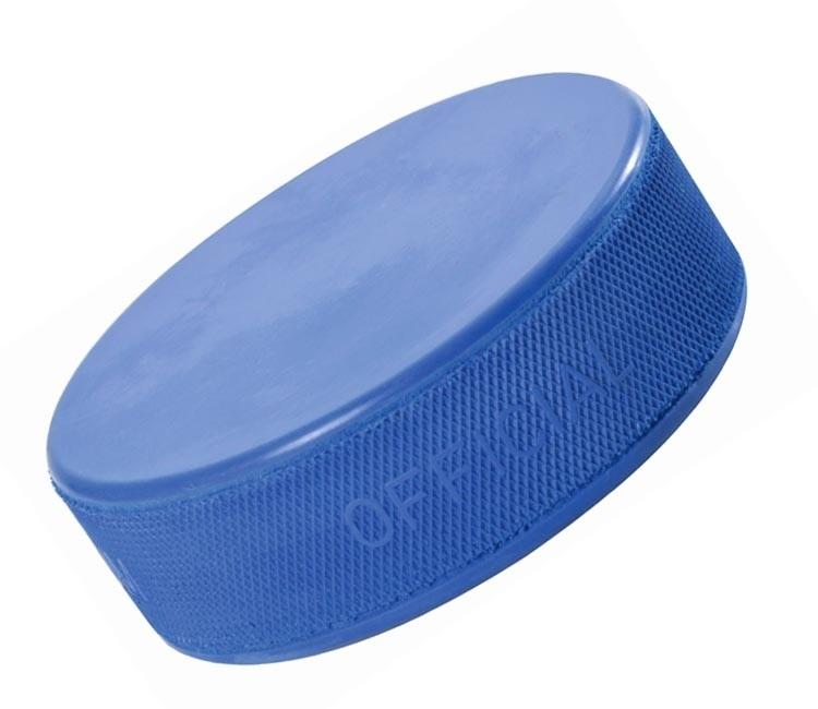 Hokejový puk modrý JR odlehčený