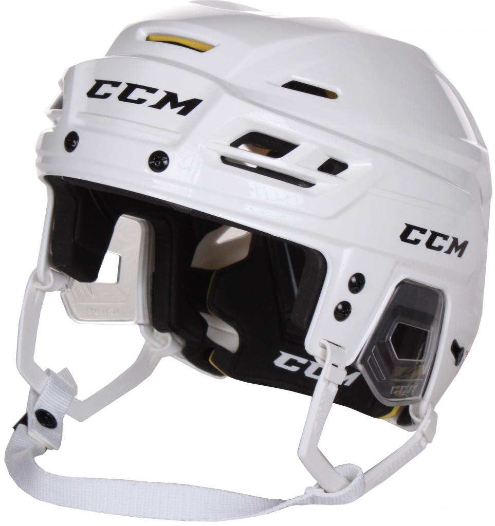 Helma CCM Tacks 310 SR, bílá, Senior, S, 51-56cm
