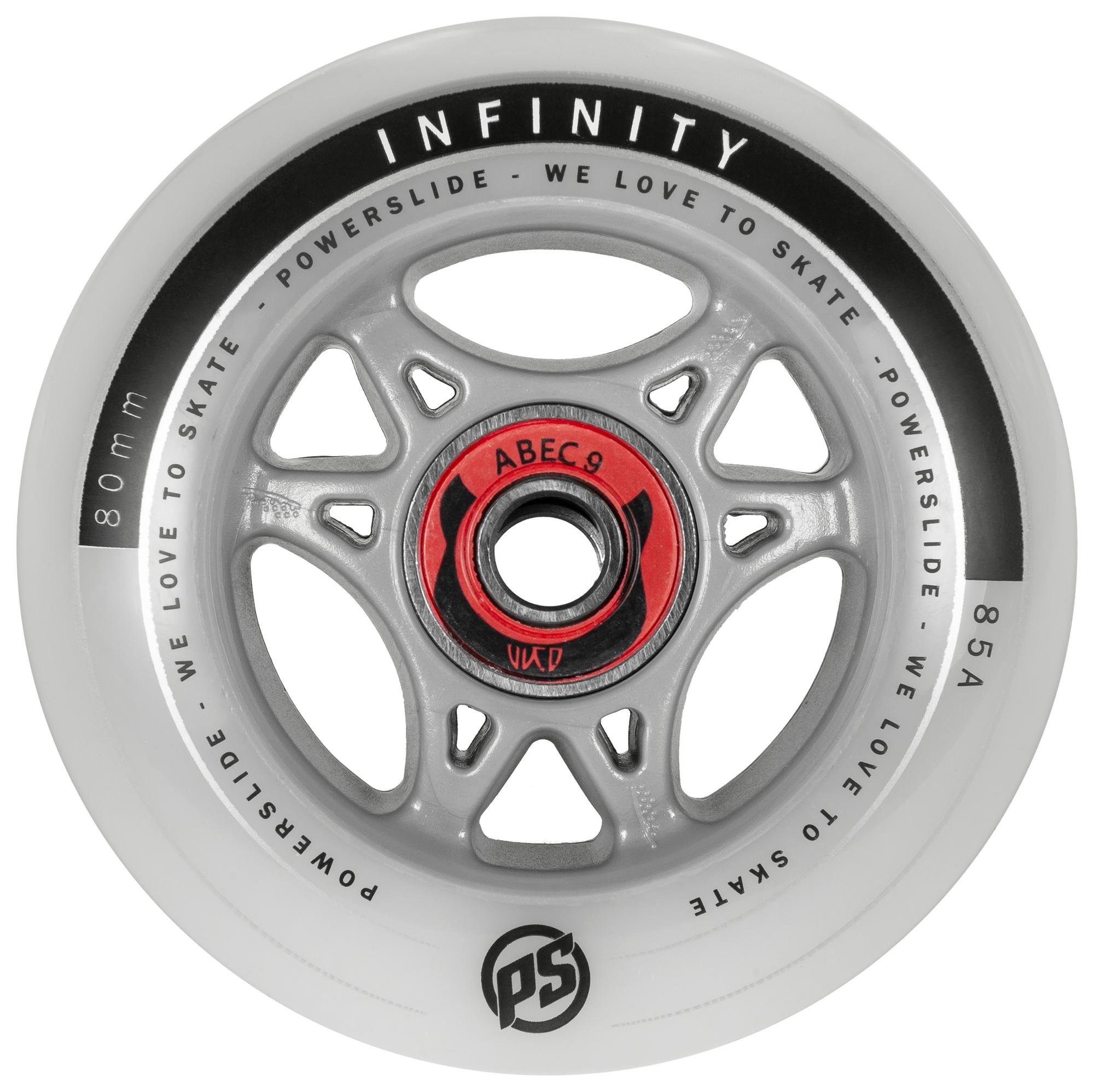 Kolečka Powerslide Infinity RTR s ložisky Abec 9 (1ks)