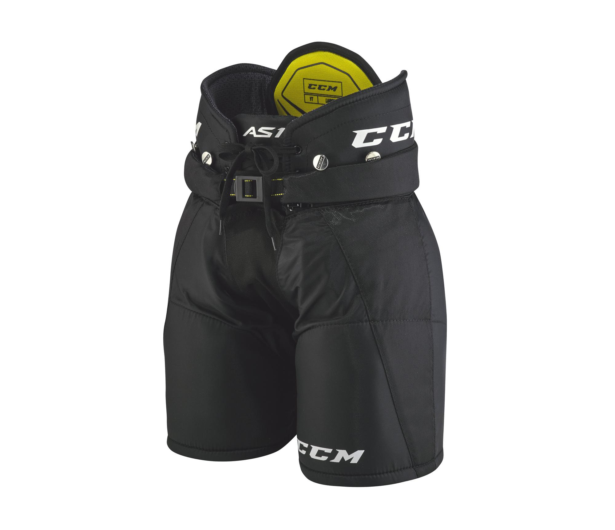 Kalhoty CCM Super Tacks AS1 YTH, červená, Dětská, M
