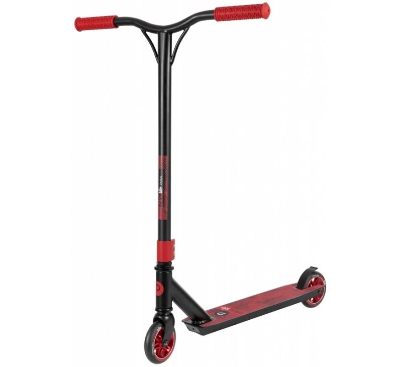Koloběžka Playlife Stunt Scooter Push Red