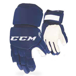 """Hokejbalové rukavice CCM 8K, tmavě modrá, 12"""", M"""