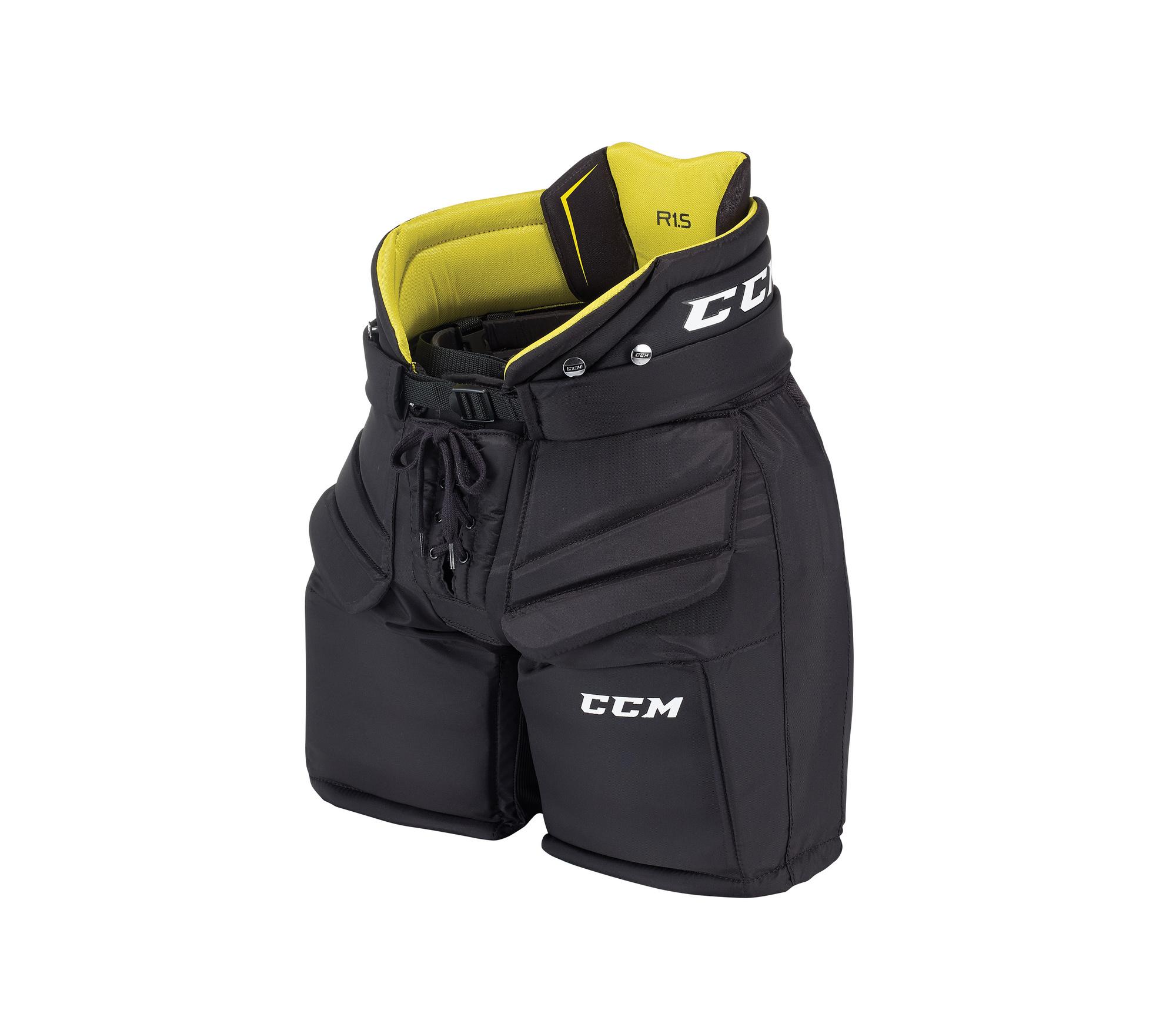 Brankářské kalhoty CCM Eflex E2.5 JR, černá, Junior, M