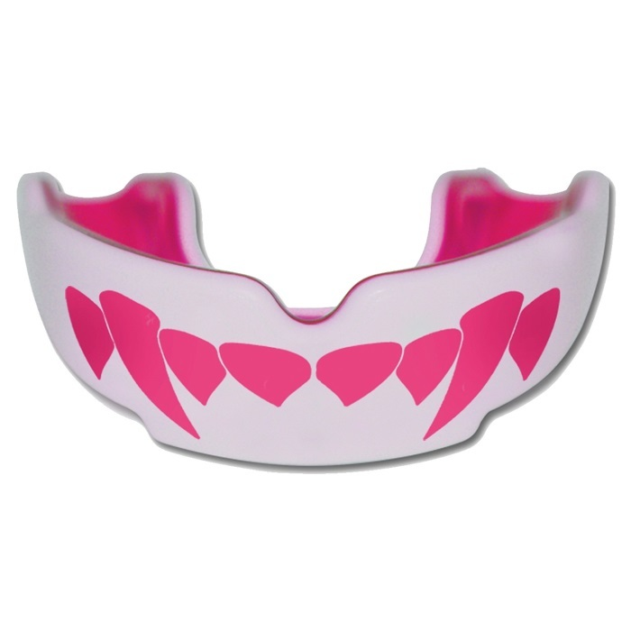 Chránič zubů Safe Jawz Extro Series Fangz Pink